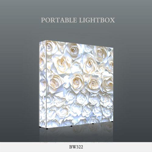 便携灯箱-LED层板展示架