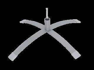 喷塑弯曲十字底脚FBG-11