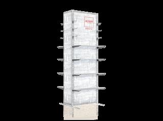 Lightbox Slatwall BW312