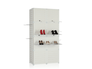 Portable Modular Slatwall Display SW901